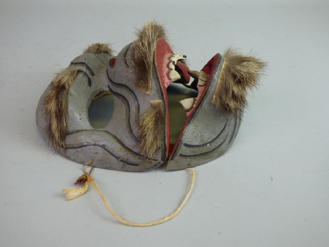 Antique Japanese Noh Mask - 2