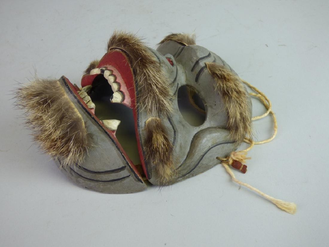 Antique Japanese Noh Mask - 3