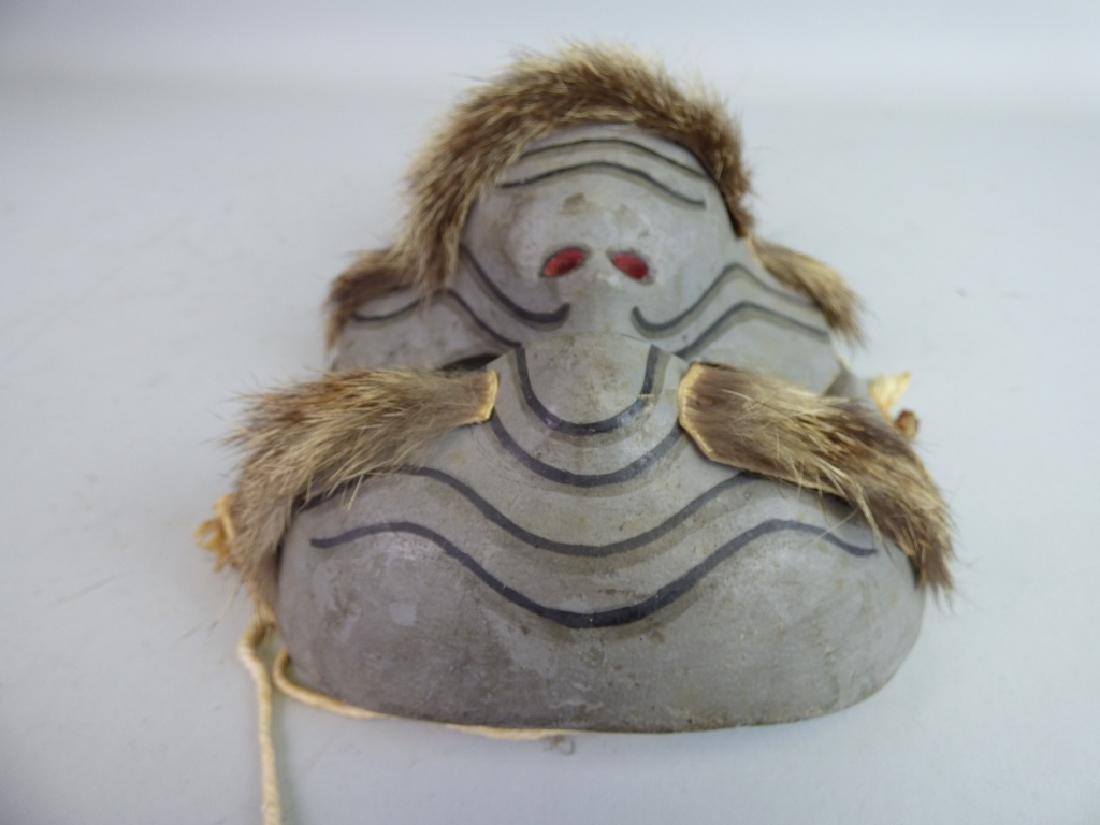 Antique Japanese Noh Mask - 6