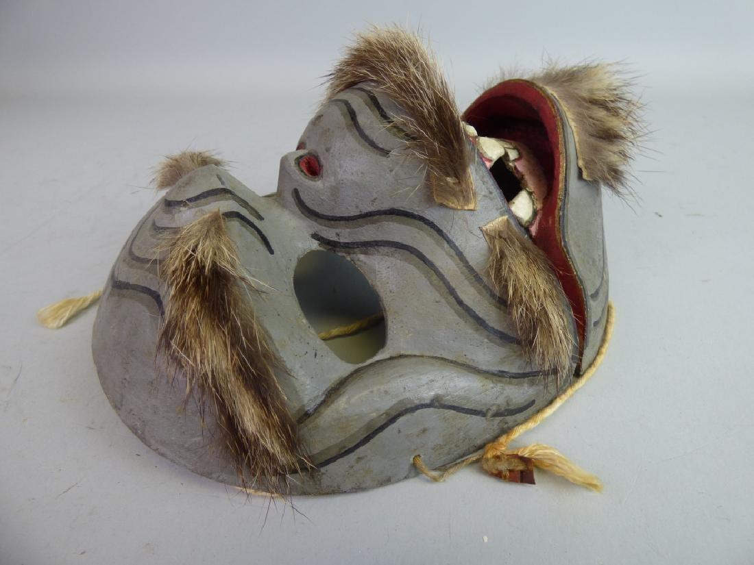 Antique Japanese Noh Mask - 7