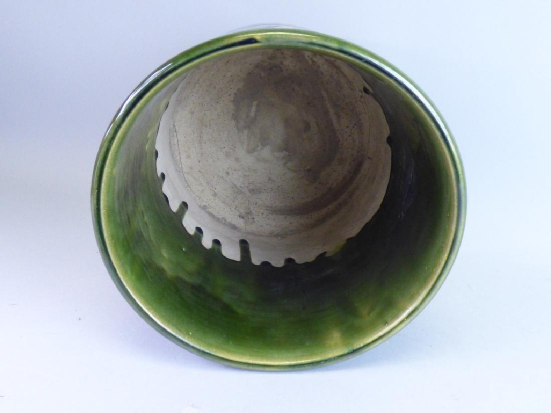 Oribe-Style Pottery Hibachi - 5