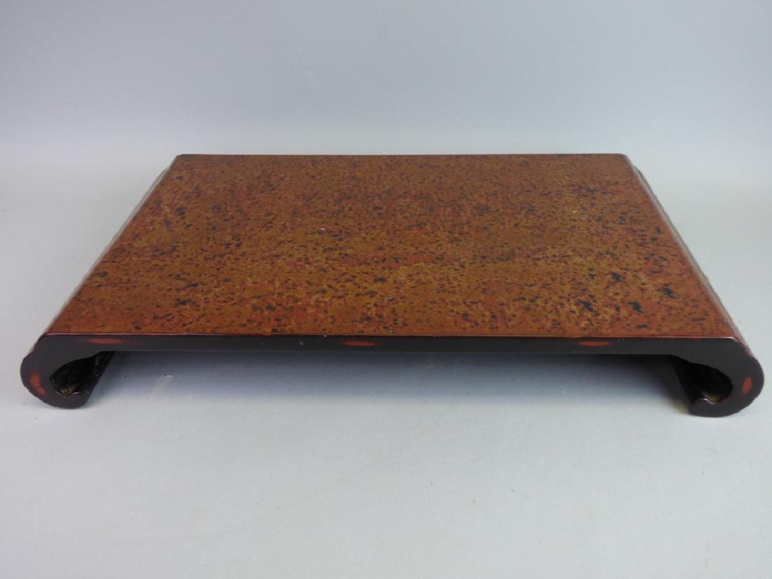 Finely Inlaid Wasaka Lacquer Stand