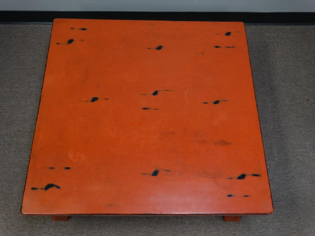 A Fine Japanese Negoro Lacquer Low Table - 6