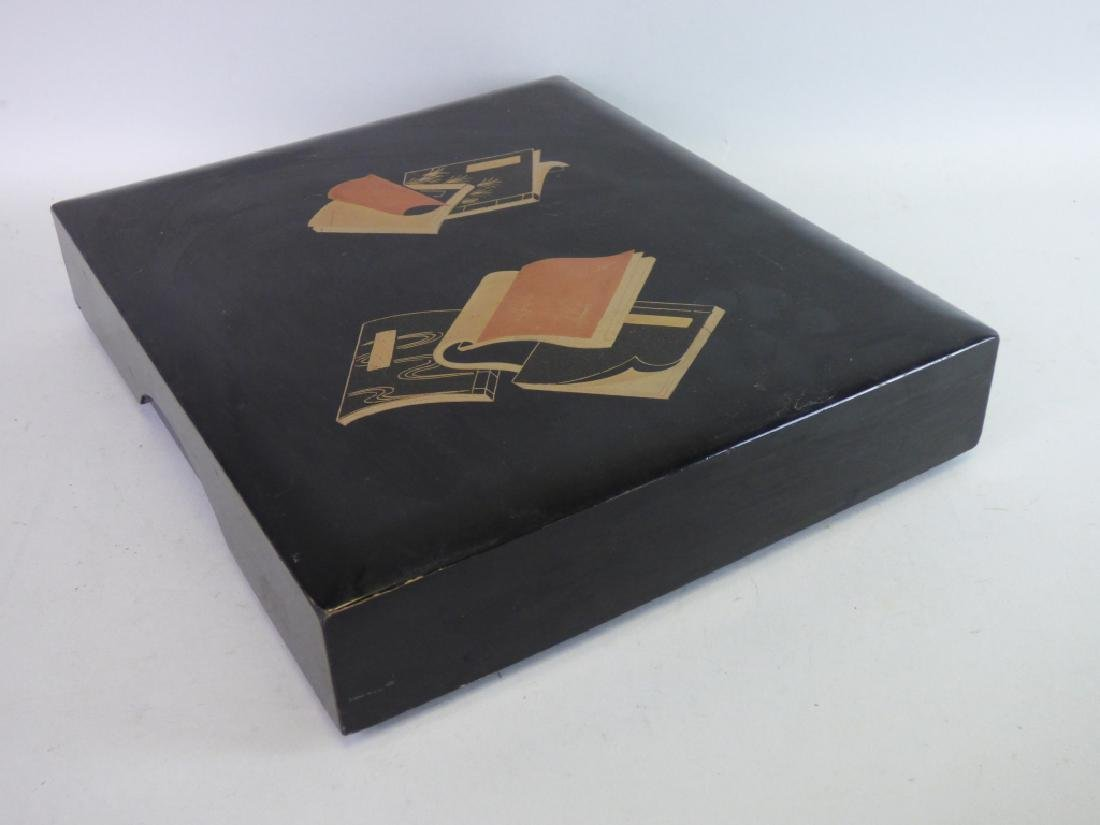 Lacquered Document Box