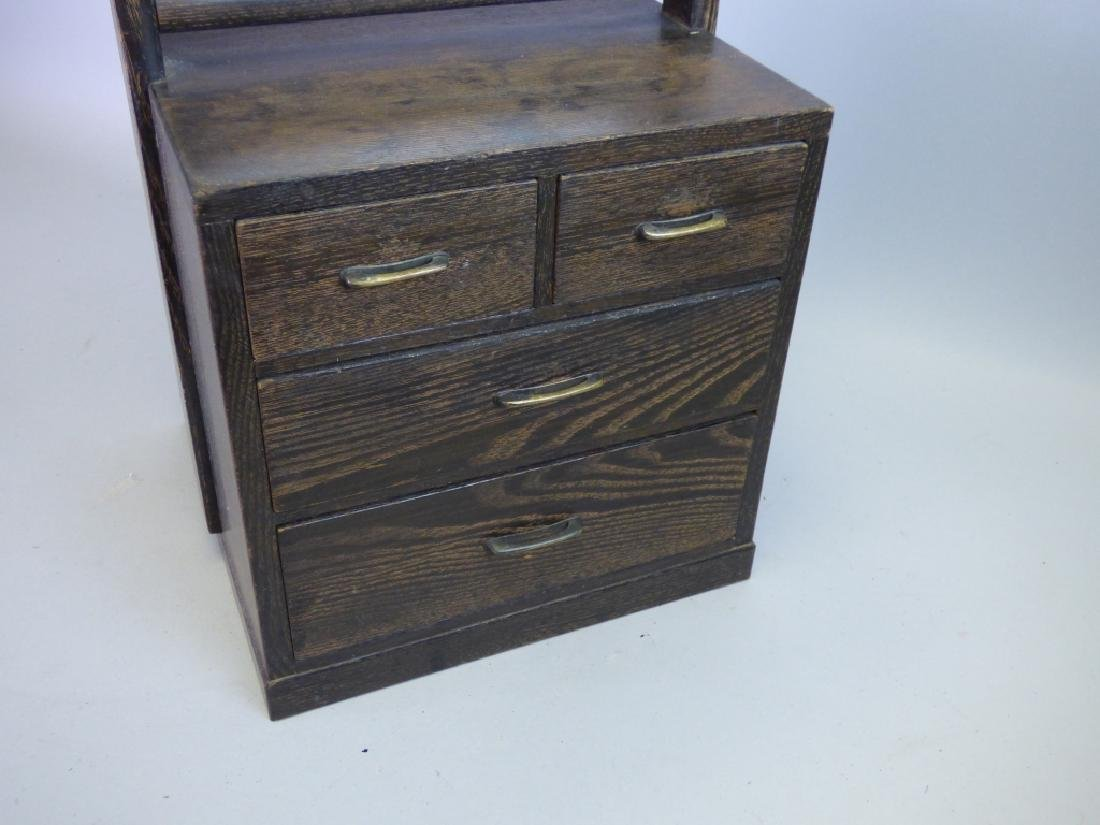 Dressing Tansu With Mirror - 2