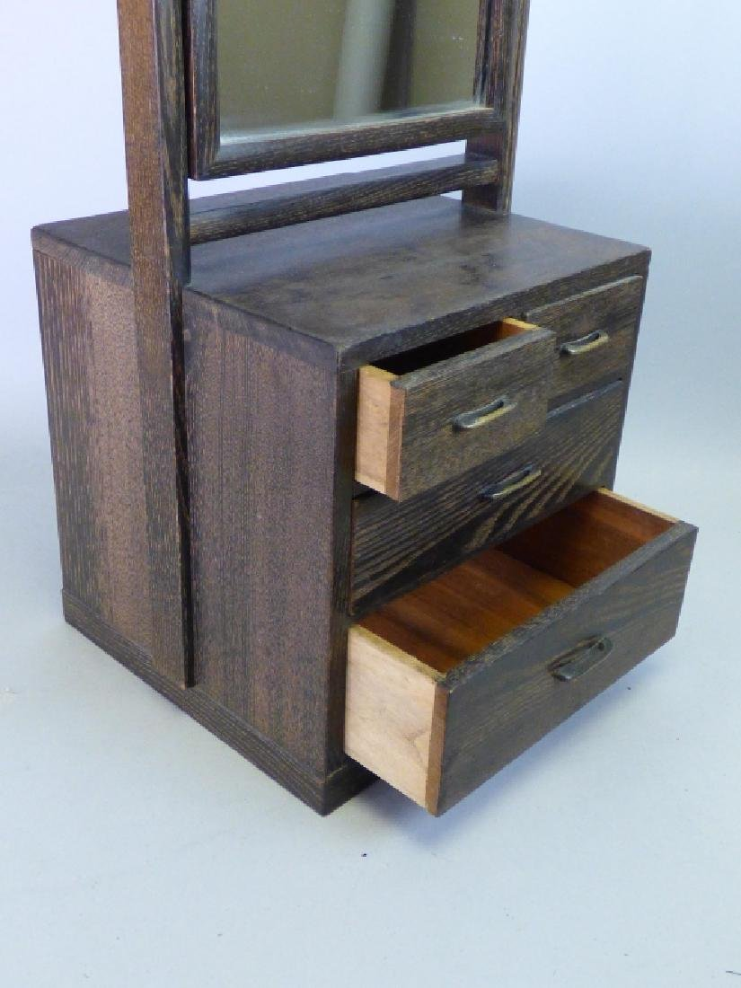 Dressing Tansu With Mirror - 8