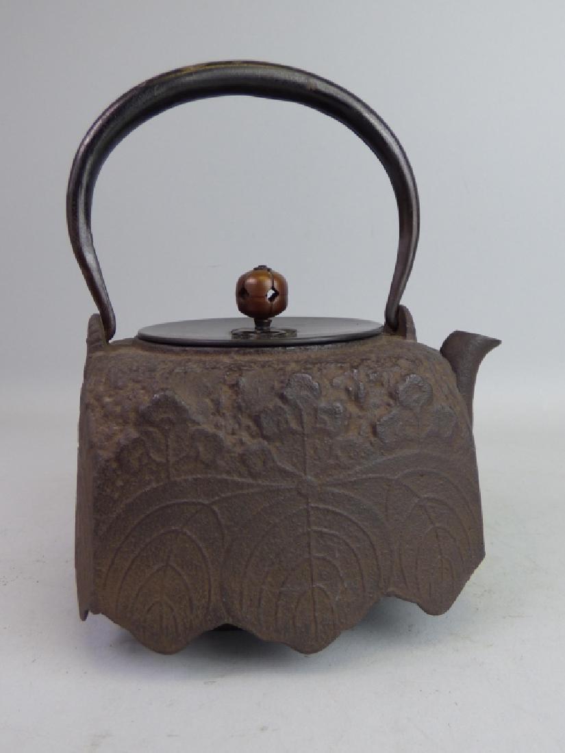Antique Japanese Cast Iron Teapot