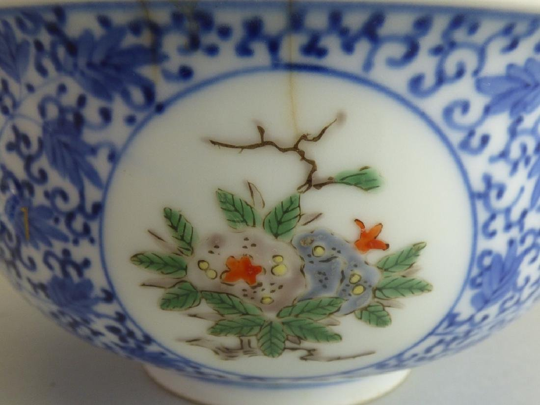 Two Chinese Famille Verte Doucai Covered Bowls - 10