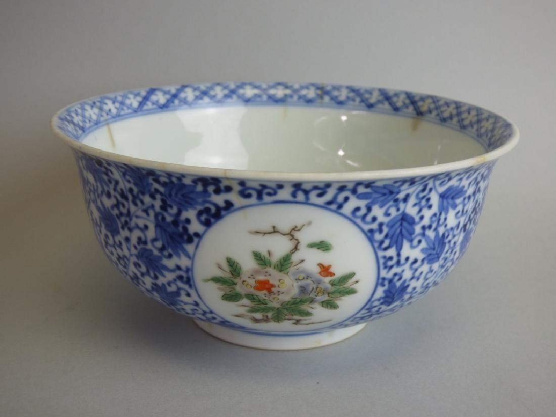 Two Chinese Famille Verte Doucai Covered Bowls - 5