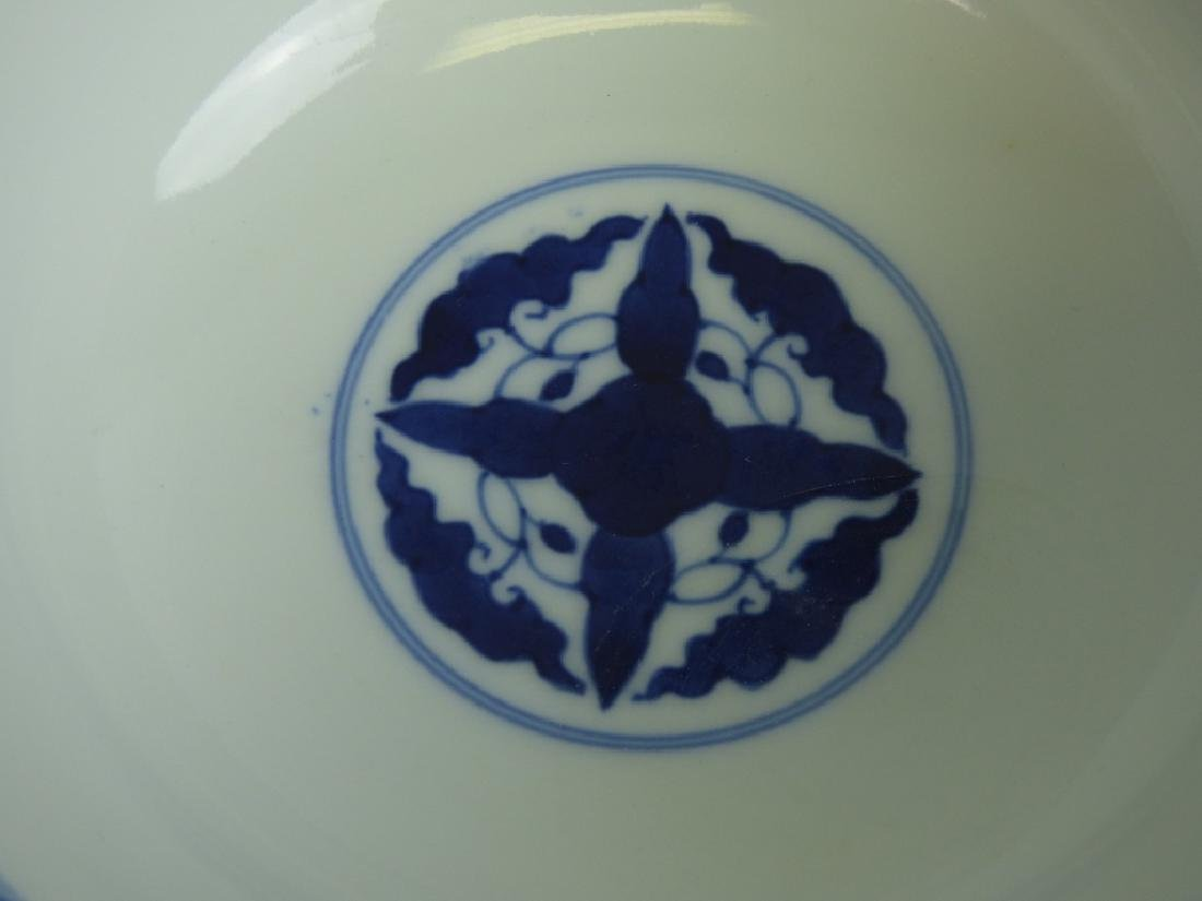 Two Chinese Famille Verte Doucai Covered Bowls - 6