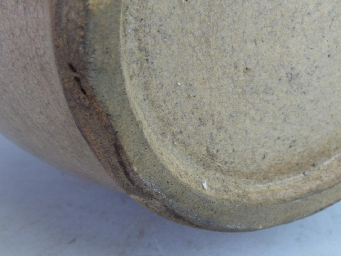 Seto Oribe-Style Tokkuri Sake Bottle - 2