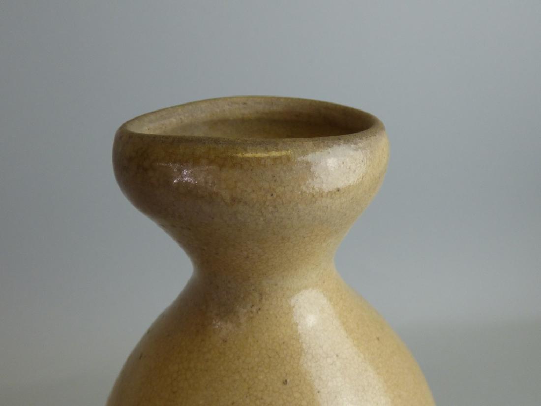 Two Pottery Sake Tokkuri - 5