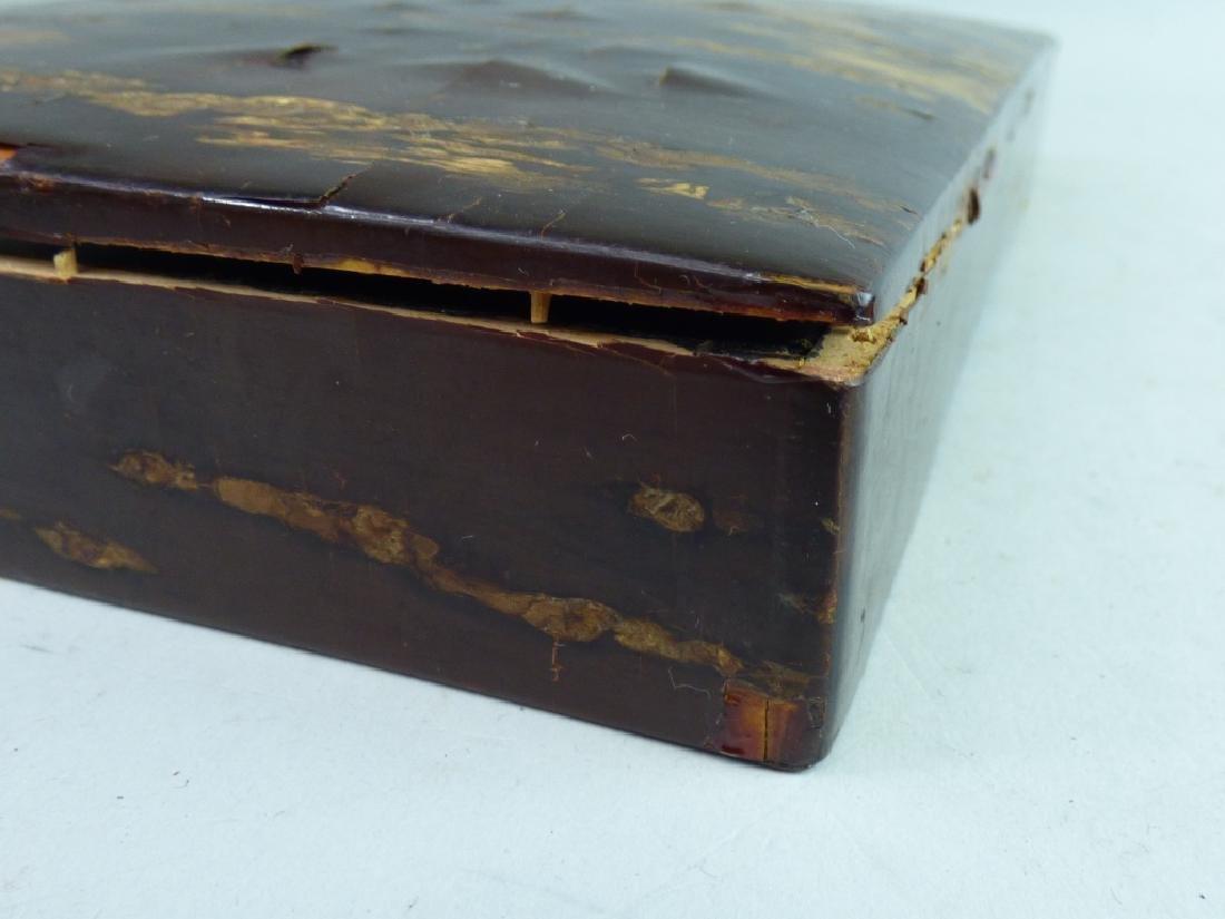 Japanese Cherry Bark Document Box - 8