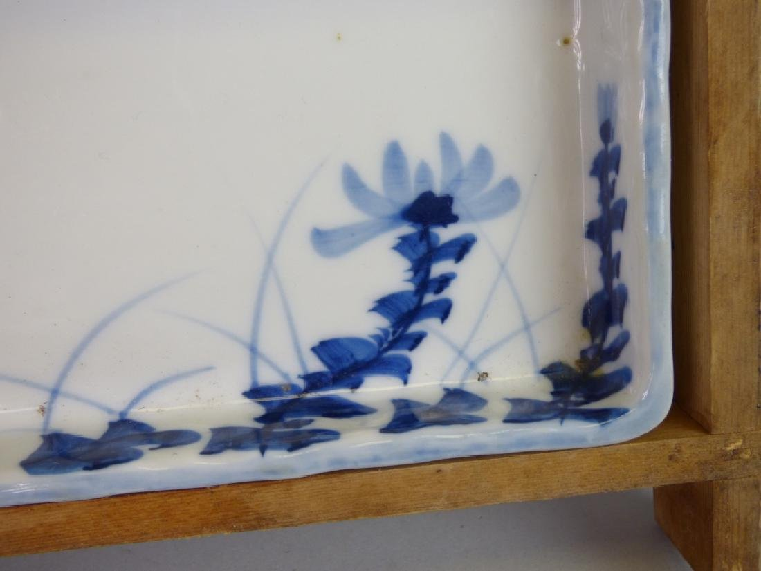 Eight Antique Japanese Porcelain Divided Trays - 4