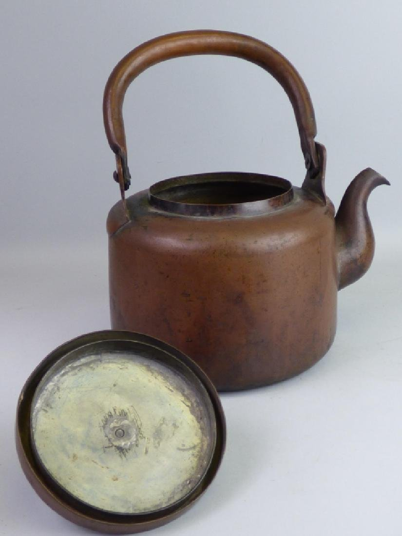 Japanese Copper Teapot - 2