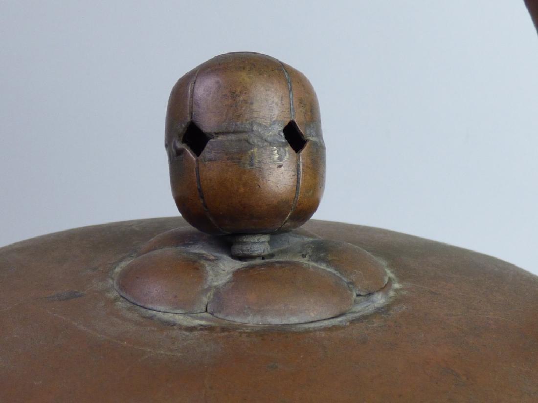 Japanese Copper Teapot - 4