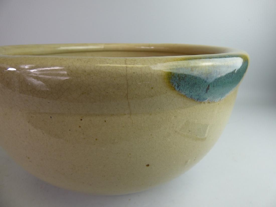 Large Japanese Ki-Seto Pottery Bowl - 2