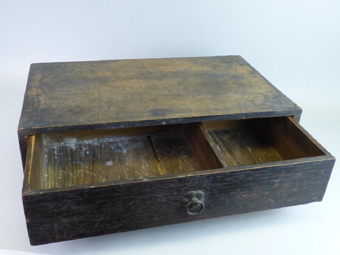 Japanese Single Drawer Cabinet - 5
