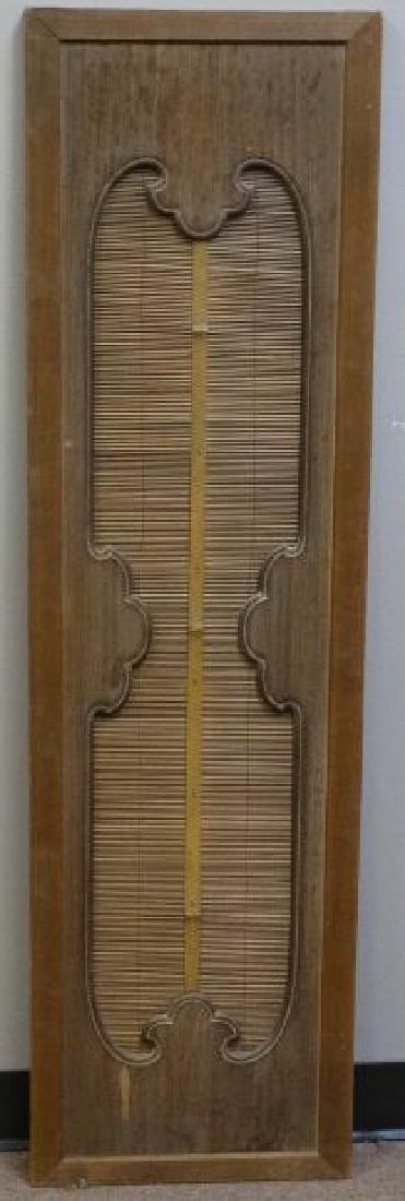 Japanese Bamboo Ranma Transom Panel