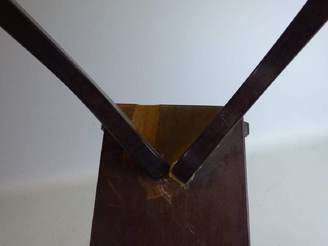 Antique Japanese Carved Wood Ichigenkin & Stand - 2