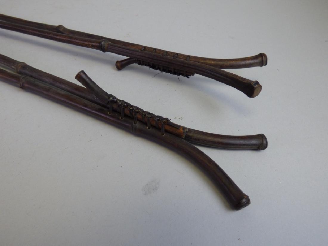 Four Scroll Sticks - 3