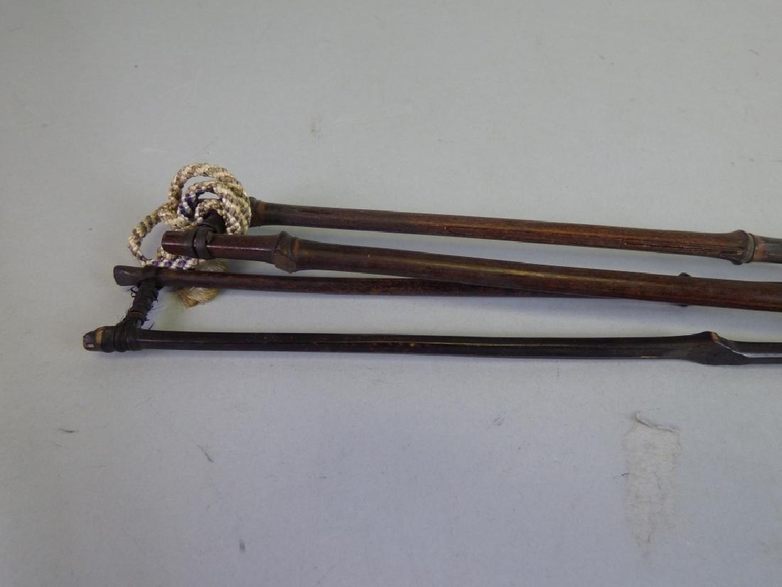 Four Scroll Sticks - 4