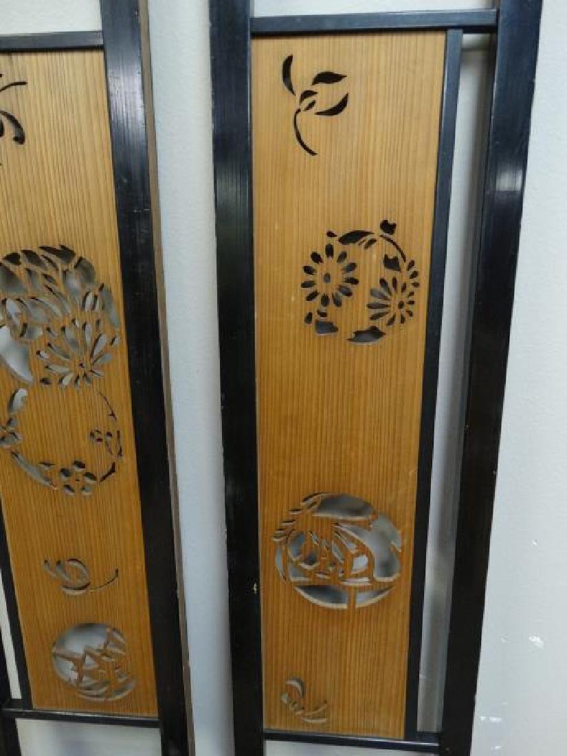 Pair of Japanese Ranma Transom Panels - 5