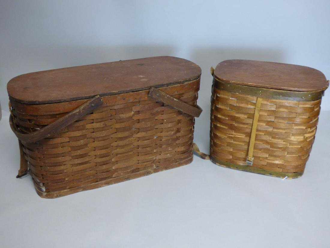 Group of 2  Fishing Baskets
