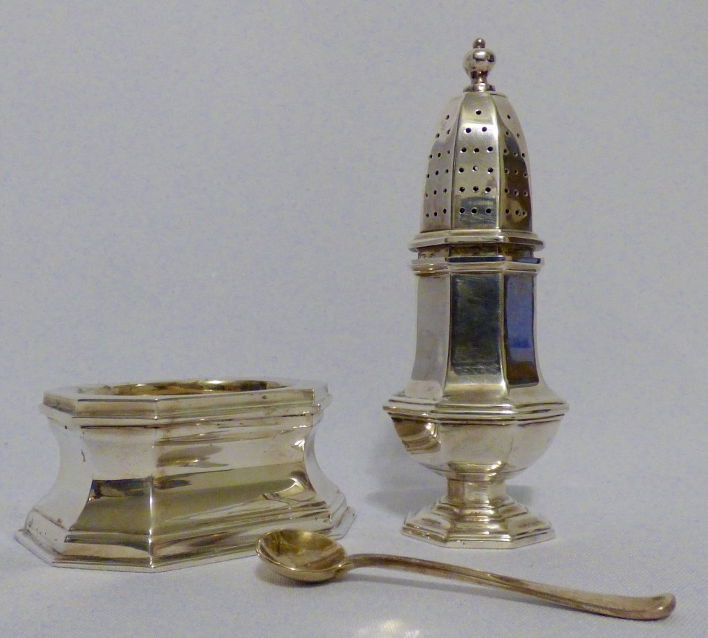 Two Cartier Sterling Silver Table Articles