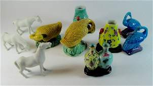 Group of Ten Chinese Porcelain Miniatures