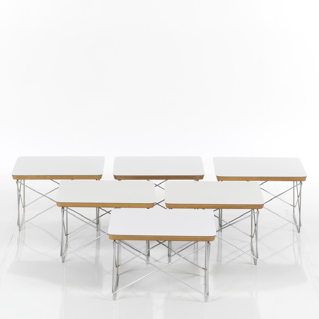 Charles Eames LTR tables (6) - 2