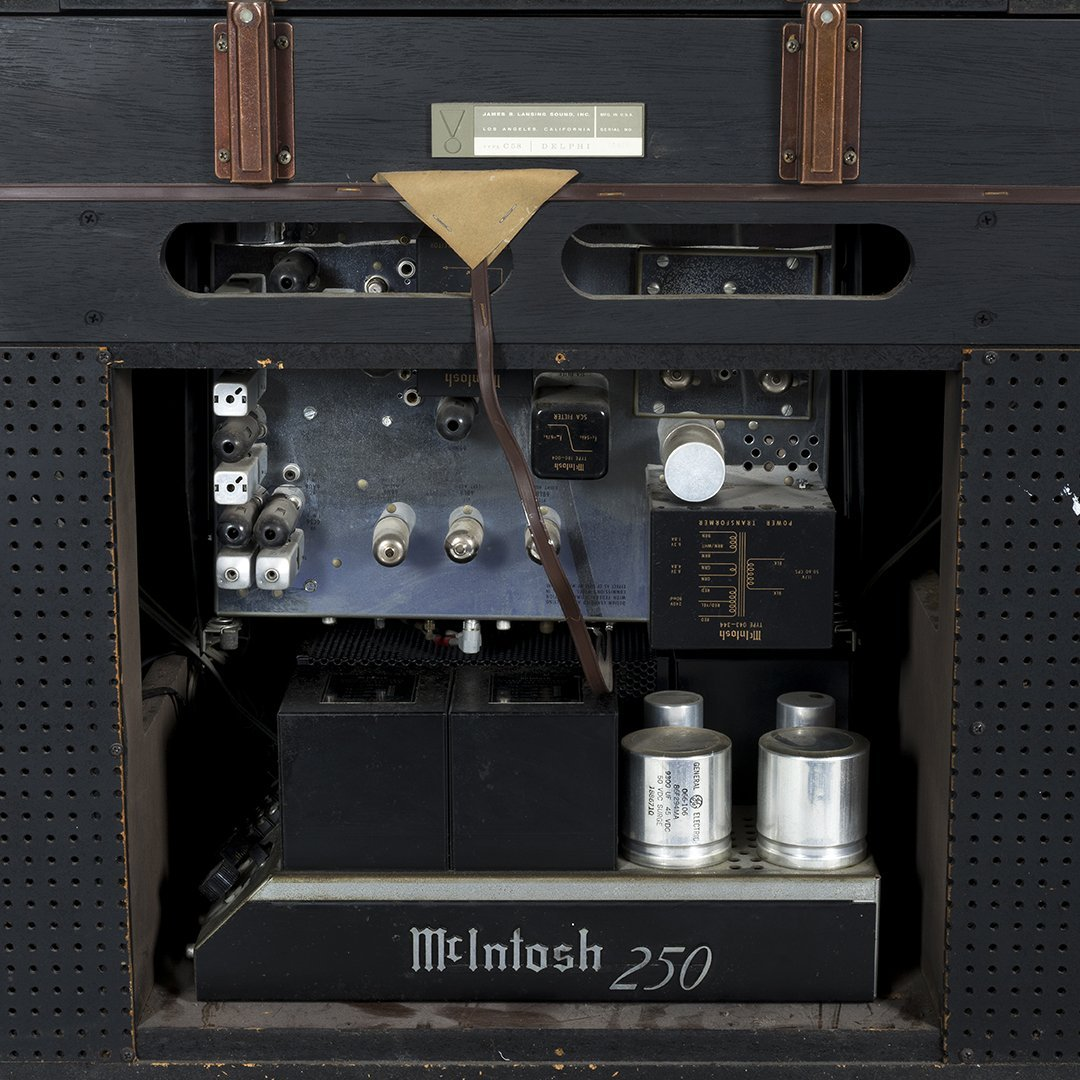 JBL Delphi Stereo Cabinet with McIntosh Components - 7