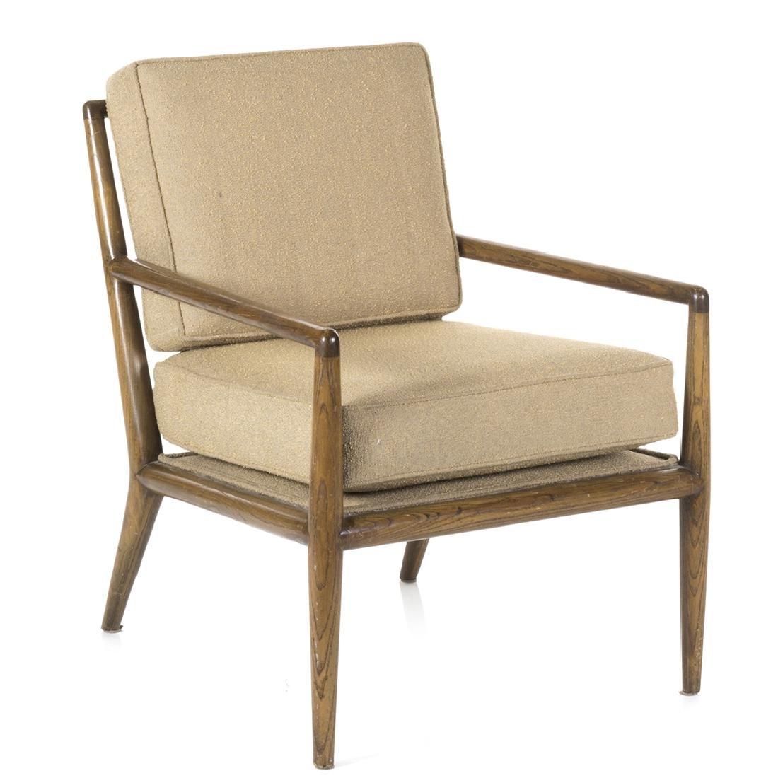 T.H. Robsjohn Gibbings Style Lounge Chair
