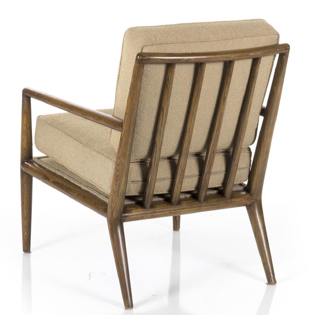 T.H. Robsjohn Gibbings Style Lounge Chair - 2