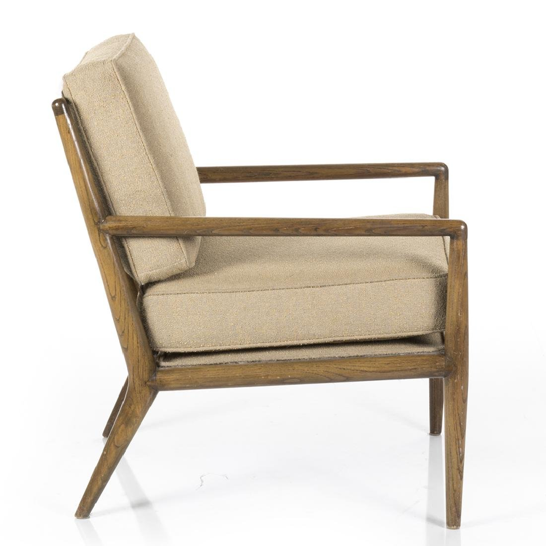 T.H. Robsjohn Gibbings Style Lounge Chair - 3