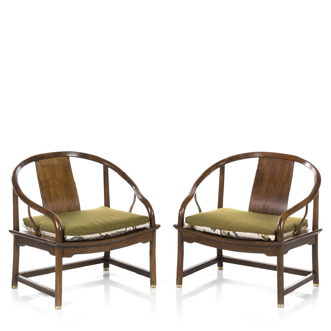 Michael Taylor Far East Lounge Chairs (2) - 2