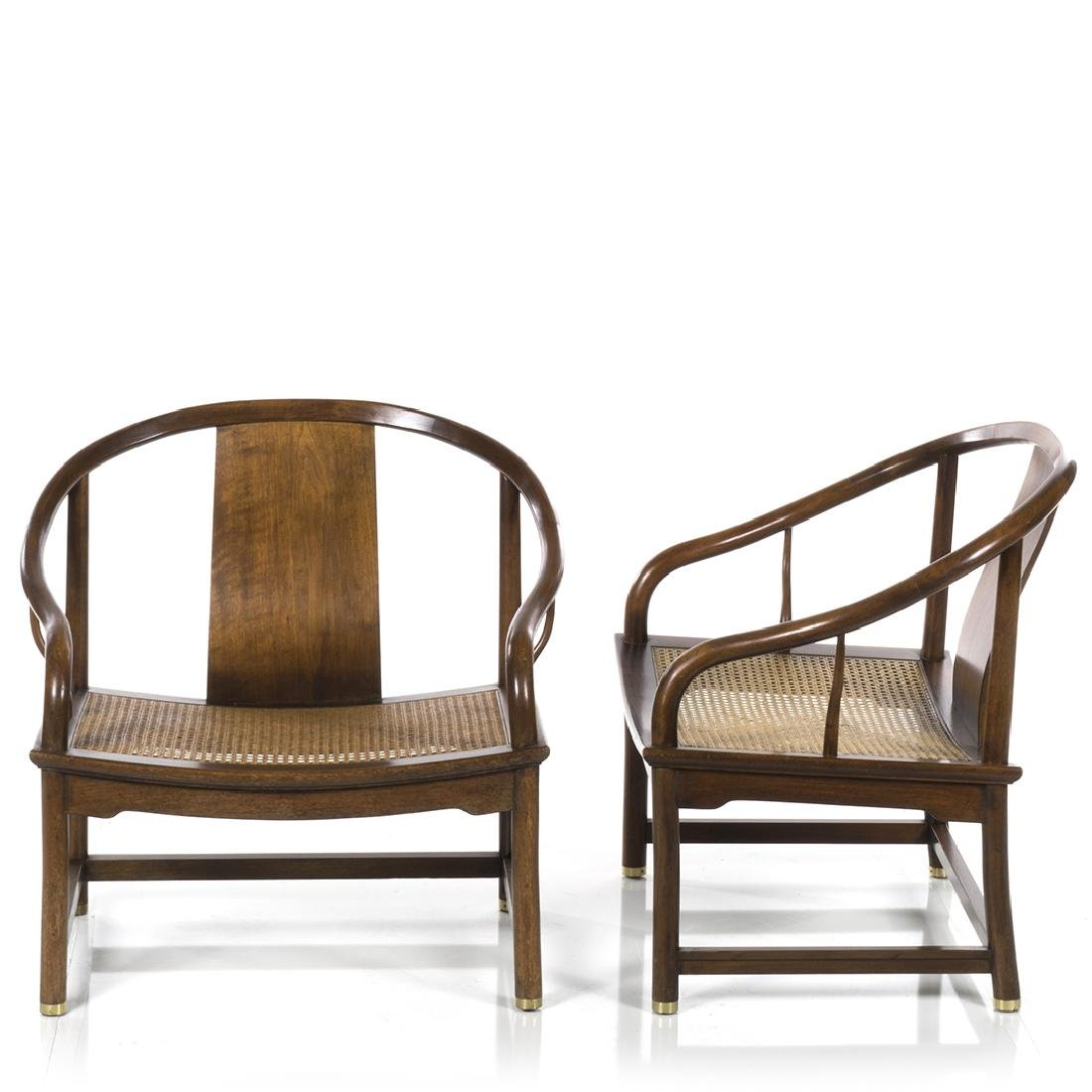 Michael Taylor Far East Lounge Chairs (2) - 3