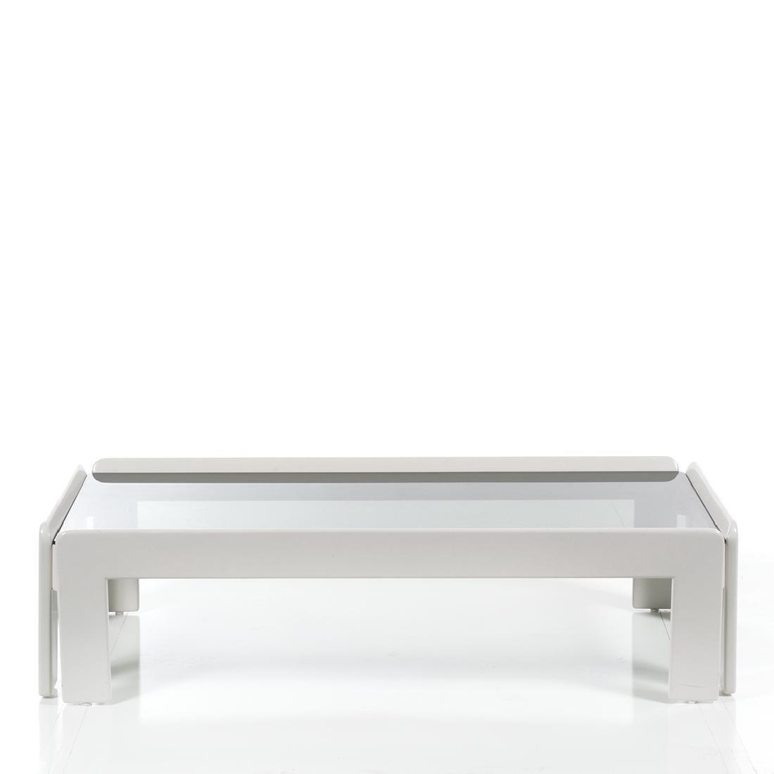 Vico Magistretti Lacquered Coffee Table