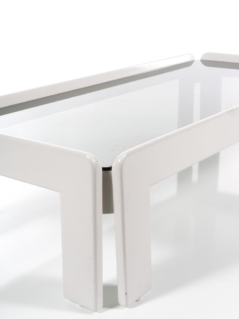 Vico Magistretti Lacquered Coffee Table - 2