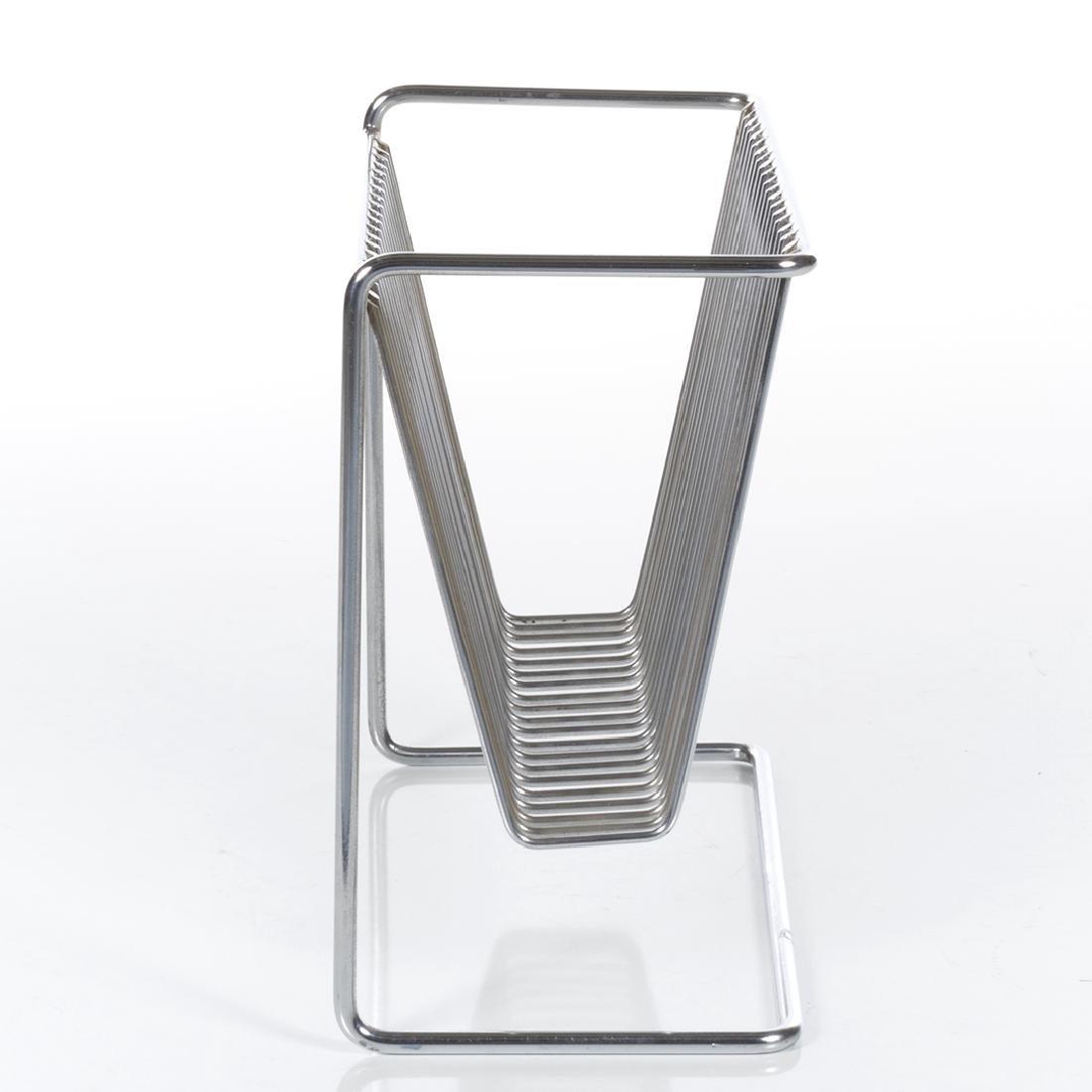 Chrome magazine holder - 2