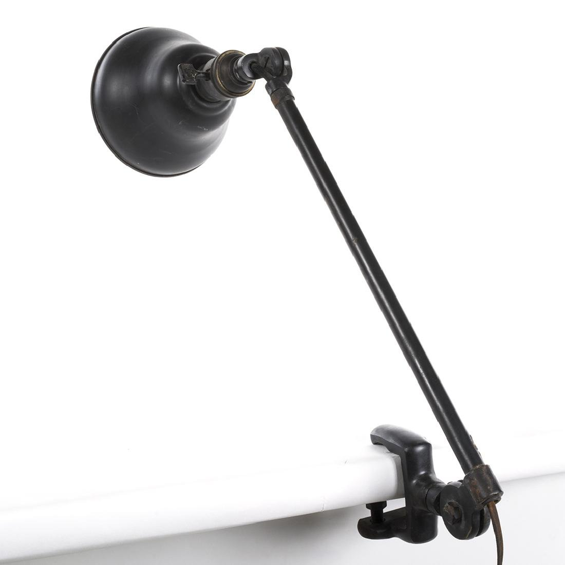 Table Mounted Industrial Lamp