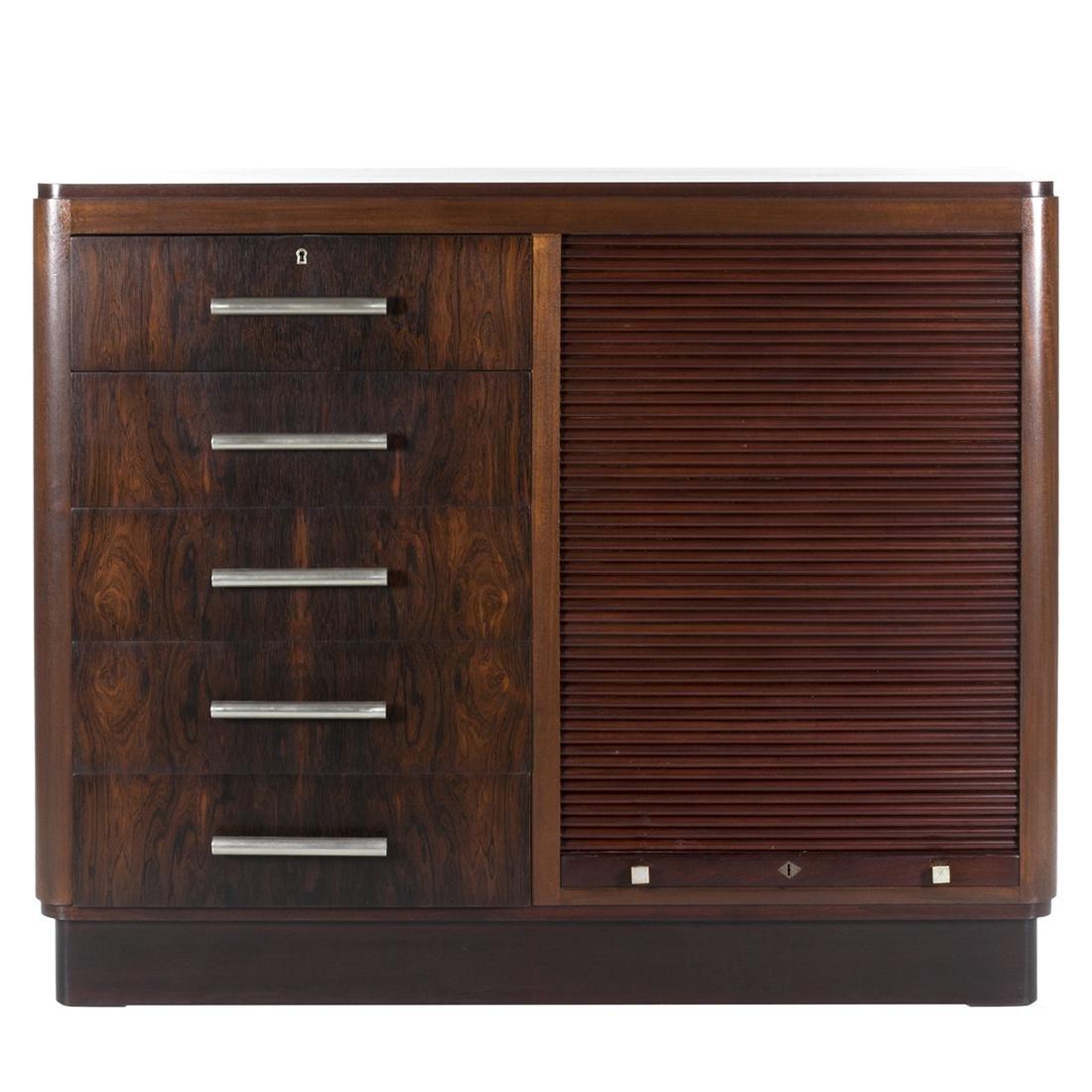 Rosewood Art Deco Cabinet - 2