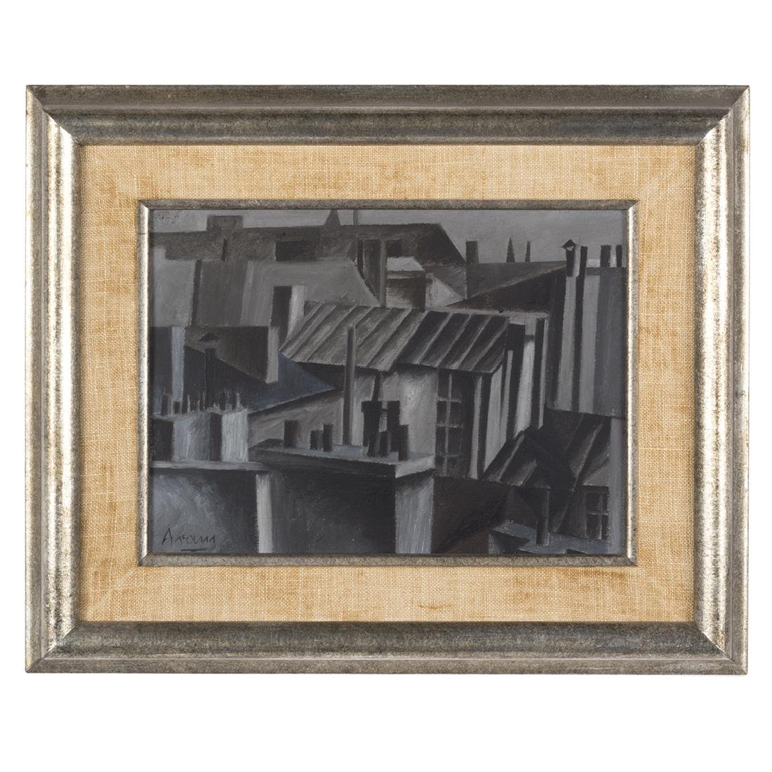Gottlieb Michael Aram 'Paris' Painting