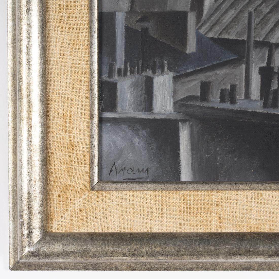 Gottlieb Michael Aram 'Paris' Painting - 2