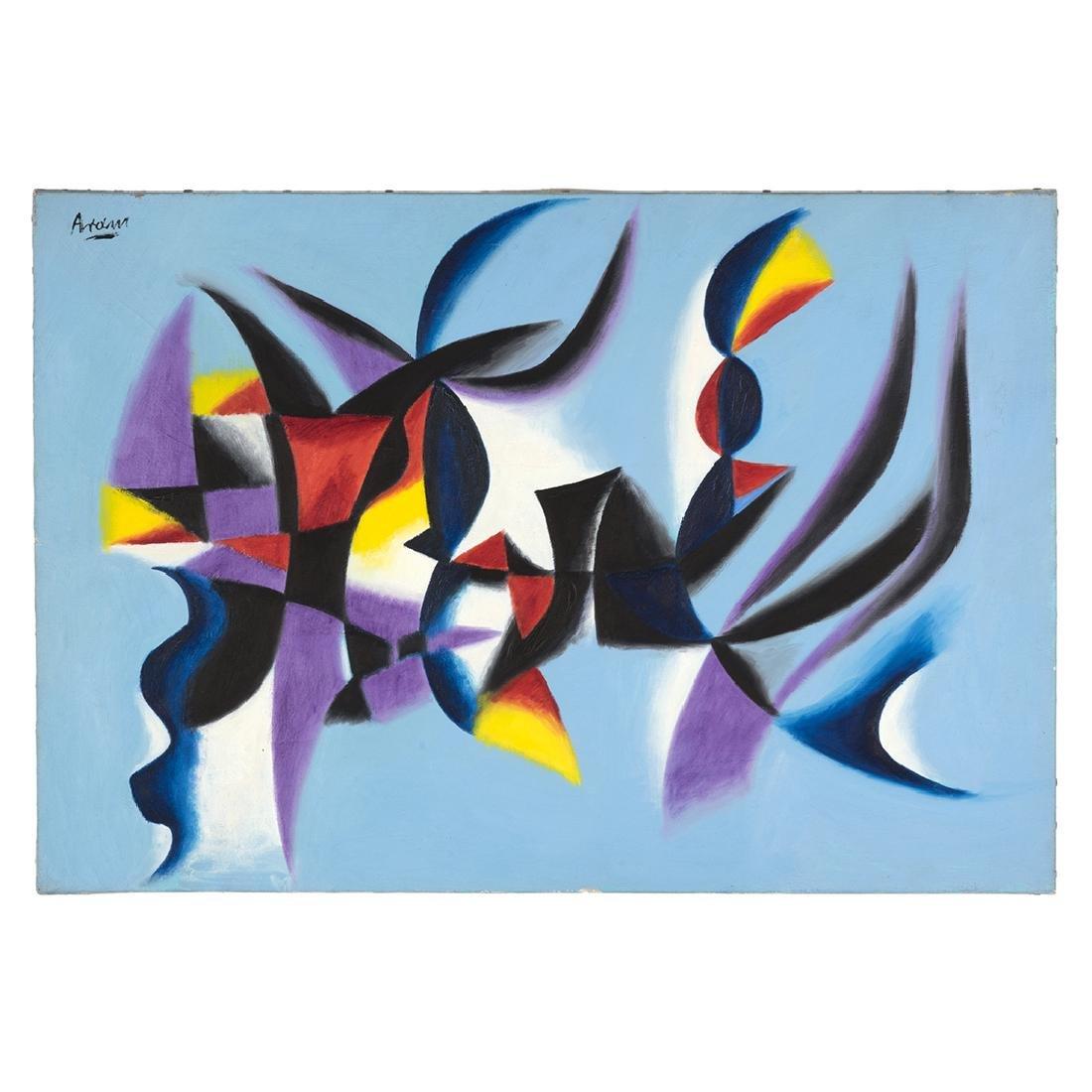 Gottlieb Michael Aram Untitled Paintings (2) - 4