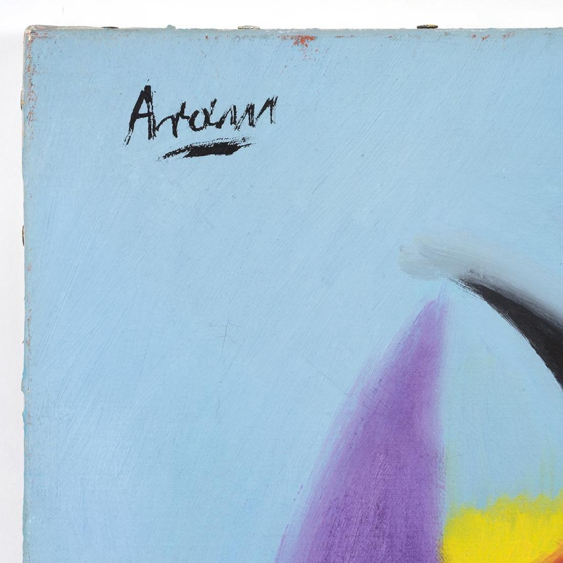 Gottlieb Michael Aram Untitled Paintings (2) - 5