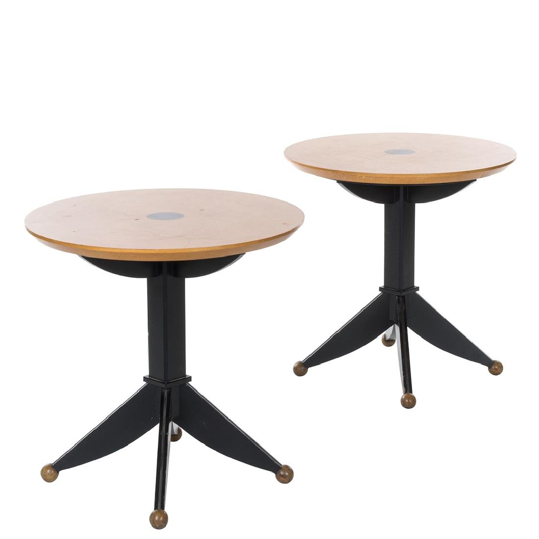 Italian side tables (2)