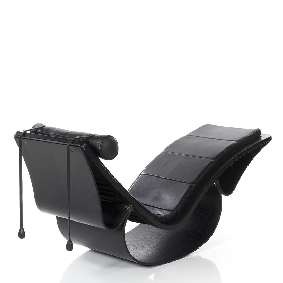 Oscar Niemeyer Rio Chaise Lounge - 3