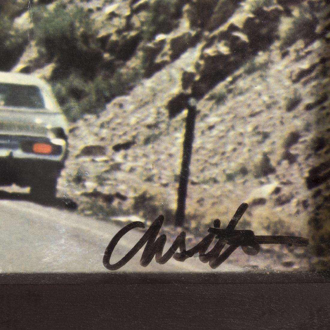 Christo 'Valley Curtain, Rifle Colorado' Offset Print - 2