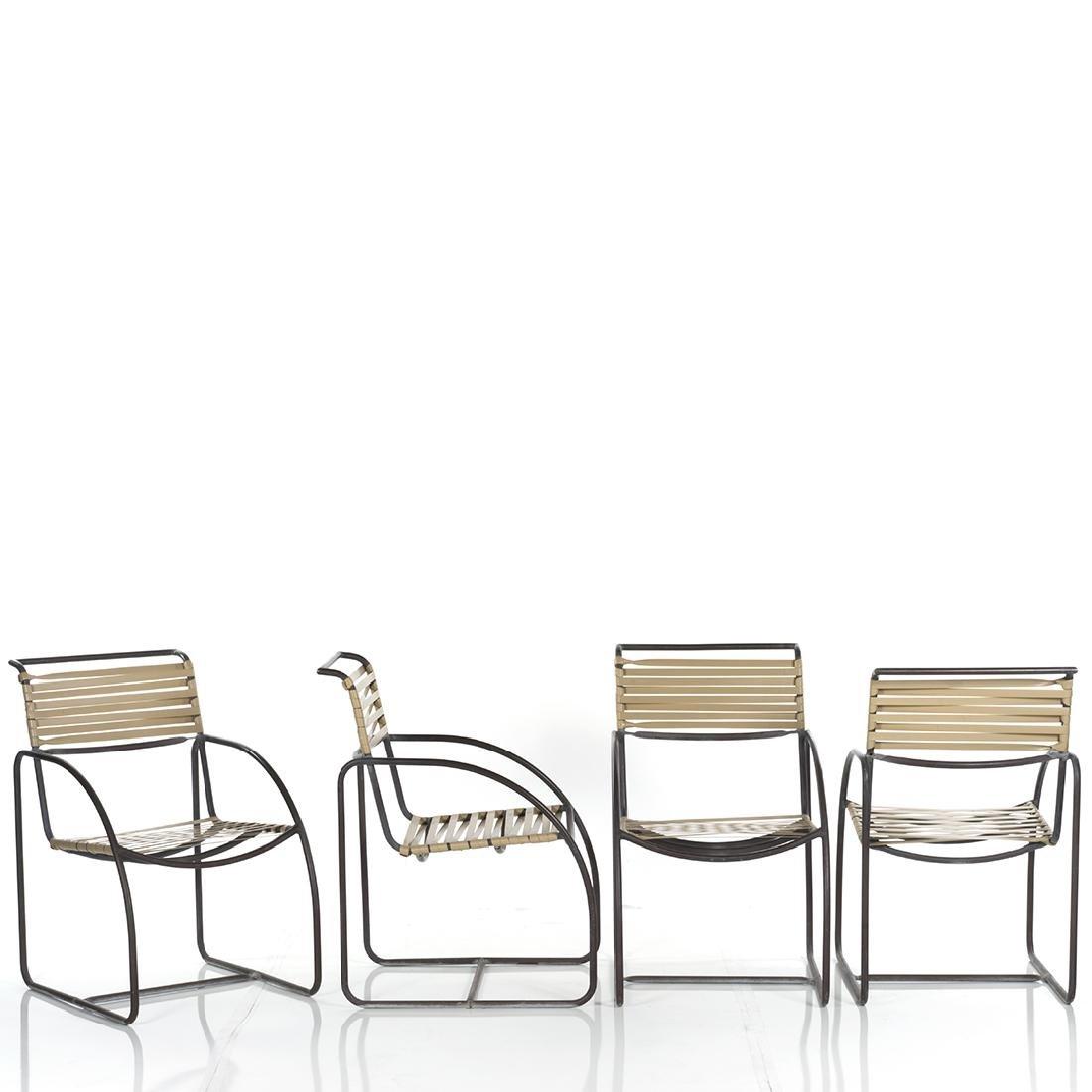 Kipp Stewart Bronze Armchairs (6) - 2